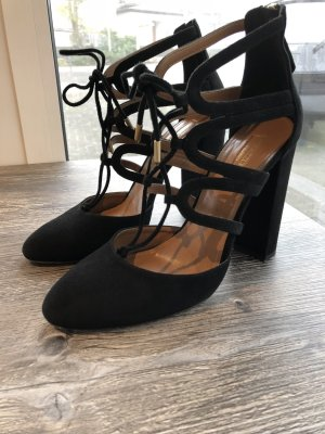 Original Aquazzura Holli 105 Pumps in schwarz