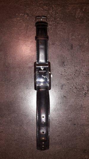 Original ARMANI Armbanduhr, Lederarmband, sehr gut erhalten! PREIS VERHANDELBAR!
