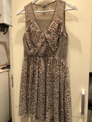 Armani Exchange Chiffon jurk veelkleurig