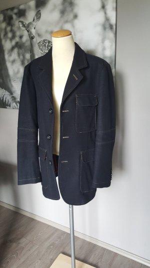 Original Armani Jacke - Gr. 42 - schöne dunkelblaue Jacke Übergangsjacke
