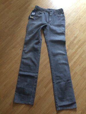 Original Armani Jeans grau destroyed Slim-Jeans W27 Neu mit Etikett Weihnachten