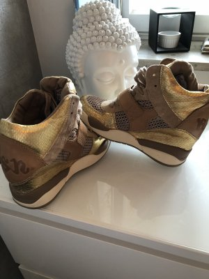 Original ASH High Sneakers Limited Edition Gold Gr 37 wie neu