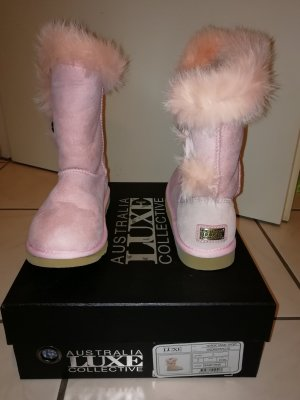 Australia Luxe Collective Boots beige-pink fur