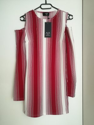 AX Paris Mini Dress white-dark red