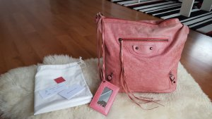 Original Balenciaga day bag in Rose + Rechnung
