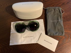 Balenciaga Round Sunglasses multicolored