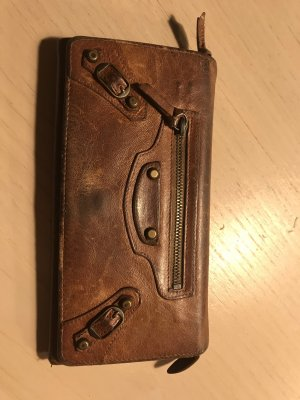 Balenciaga Wallet cognac-coloured-brown
