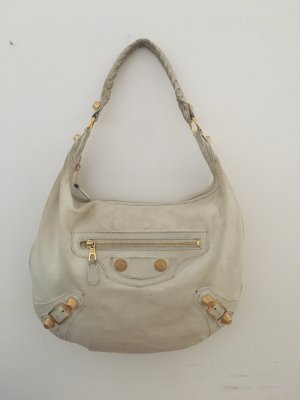 Balenciaga Handbag white-sand brown leather