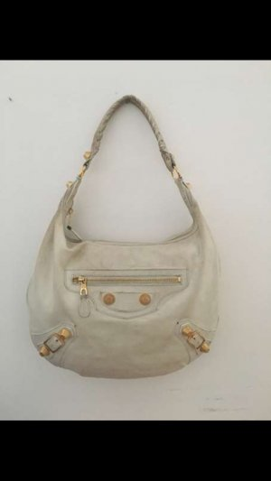 Balenciaga Handbag white-natural white leather
