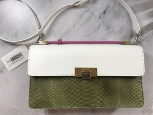 Balenciaga Pochette multicolored reptile leather