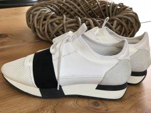Balenciaga Sneakers wit-zwart