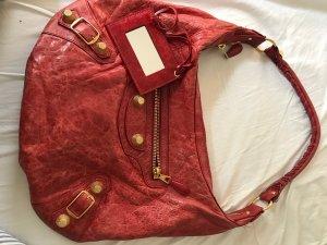 Balenciaga Borsetta rosso mattone-rosso scuro