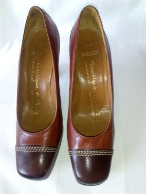 Original BALLY  SUISSE Pumps Gr. 36,5 Top Zustand