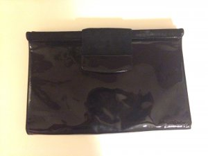 Original BALLY Wildleder/Lackleder Clutch