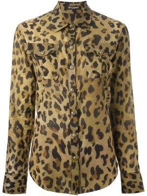 Original Balmain Leopard Shirt