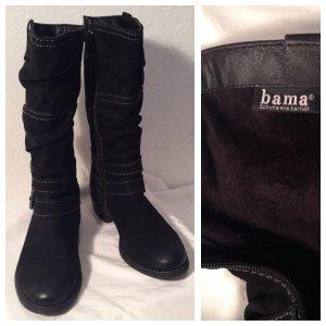 Original Bama Stiefeletten Boots Kurzstiefel schwarz Gr. 38 echtes Leder