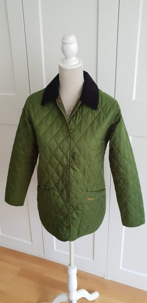 Original Barbour Steppjacke Khakigrün Gr. 36