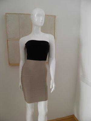 Original BCBG Max Azria Kleid schwarz beige Gr. S