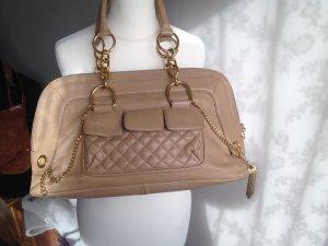 Original BCBG Max Azria Nude creme beige Shopper Tote Bag