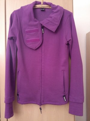 Bench Sweat Jacket brown violet-dark violet