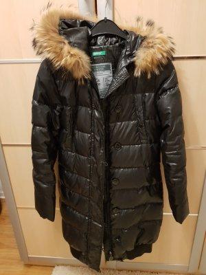 Benetton Chaqueta de invierno negro