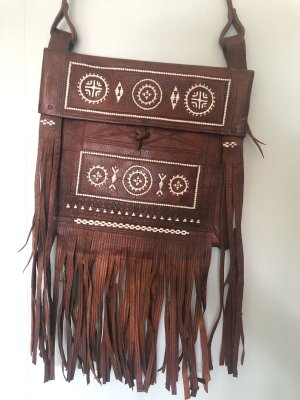 Original Berbertasche aus Kamelleder Vintage