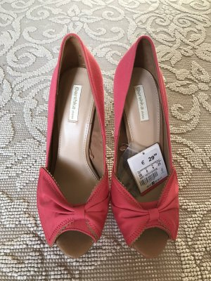 Original Bershka Peeptoe Pumps