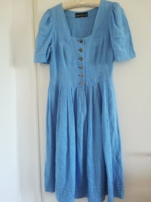 Berwin & Wolff Vestido Dirndl azul celeste
