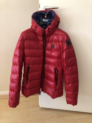 Blauer Down Jacket red-dark blue