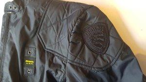 Original Blauer Jacke in dunkelblau
