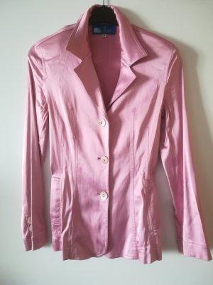 Original Blazer JOOP! Blondes. Glaenzendes Pink, mit Joop Knöpfen perlmutt