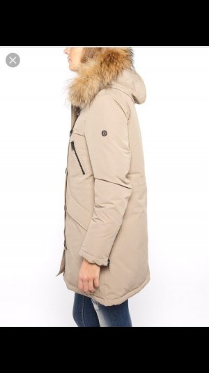 Blonde No. 8 Hooded Coat camel