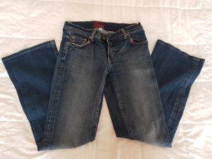 Blue Cult Pantalone cinque tasche blu Cotone