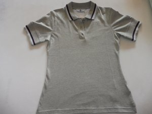 BMW Polo Shirt light grey cotton