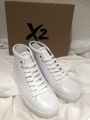 BMW High Top Sneaker white-gold-colored leather