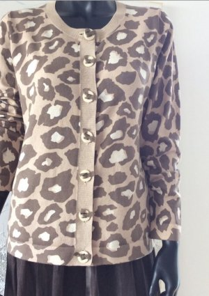 Original Boden Strickjacke Animalprint