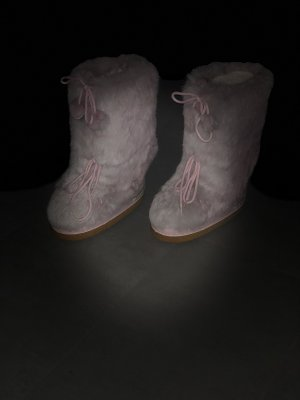 Bogner Botas de nieve rosa claro