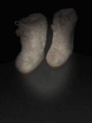 Bogner Botas de nieve crema