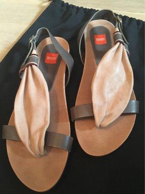 Original Boss Orange Sandaletten, Gr. 36, Neu ohne Etikett, mit Staubbeutel !