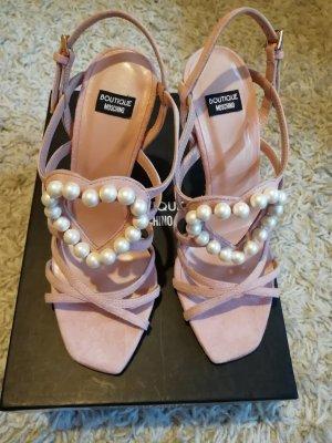 Moschino High Heel Sandal multicolored
