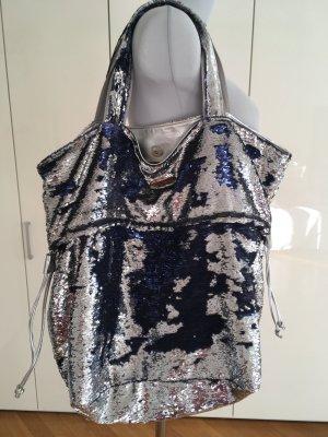 Brasi&Brasi Comprador color plata-azul oscuro Poliéster