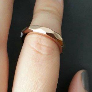 Partner Ring rose-gold-coloured stainless steel