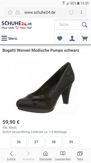 Original Bugatti Pumps