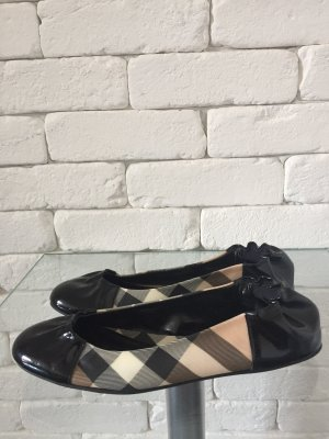 Burberry Patent Leather Ballerinas multicolored