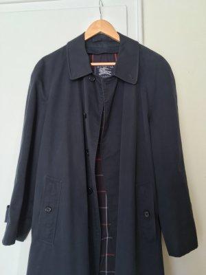 Original Burberry blauer Trenchcoat mit herausnehmbaren wollfutter