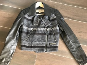 Burberry Biker Jacket multicolored leather