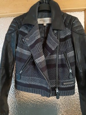 Burberry Biker Jacket multicolored leather