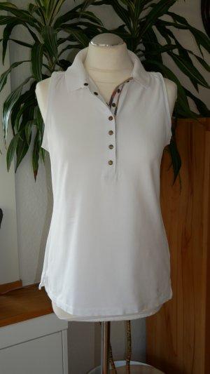 Burberry Brit Long Shirt white-natural white cotton