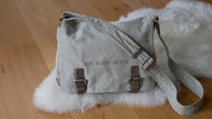 Burberry Crossbody bag multicolored linen