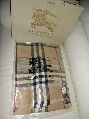 Original Burberry Damen Schal Tuch XL 100% Kaschmir Giant Check - NEU&OVP